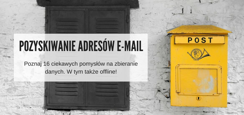 sposoby na rozbudowanie listy mailingowej press yourself