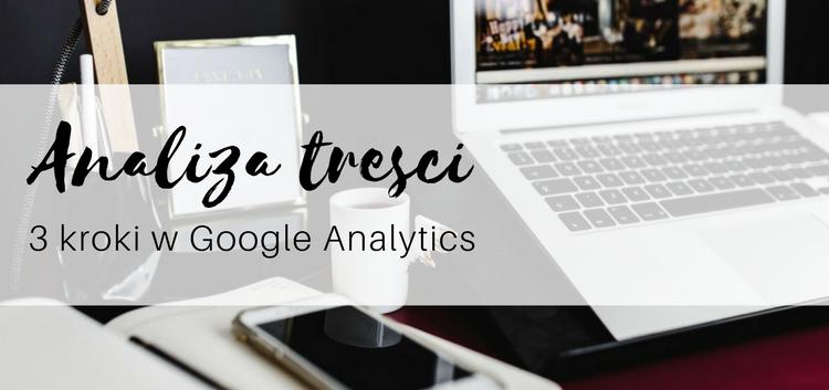 analiza treści w google analytics